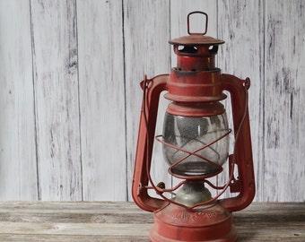 Railroad Lantern Camping Lantern Vintage lantern Red Lantern Swallow Brand Lantern