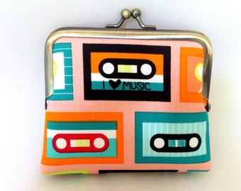 Mix Tape Coin Purse