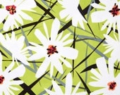 Daisy Splash Fabric by Jane Dixon for Andover Fabric - Buy 1 yard or more with quantity discounts