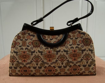 Fabulous Vintage Tapestry Bag