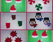 Christmas Magnet Set PATTERN ONLY