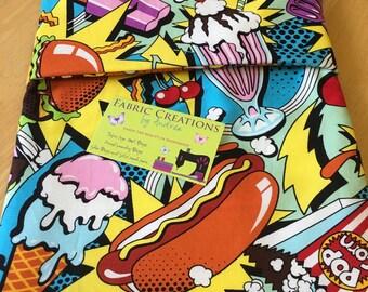 Hot Dogs, Ice Cream, Cherries -Microwave Baked Potato Bag - RTS