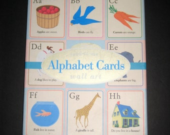 Colorful Read to Me  Alphabet Cards for Scrapbooking, Collage, Card Making, etc.