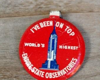 Souvenir Pin Empire State Building