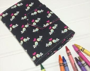 Crayon Wallet - Hip Trendy Travel - Love birds