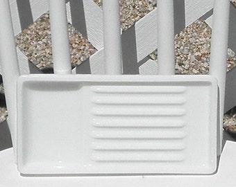Dental Tray Vintage Milk Glass American Cabinet 0823 Vanity Drawer Cosmetics Craft Organizer Beading Glue Gun Tray Pen Holder