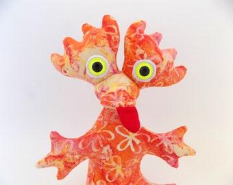 Cute Monster Plush, Monster Stuffed Animal, Monster Toy, Alien Toy, Alien Plush by Adopt an Alien named Charity