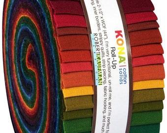 180540 Roll-up fabric bundle roll New Dark Palette Robert Kaufman