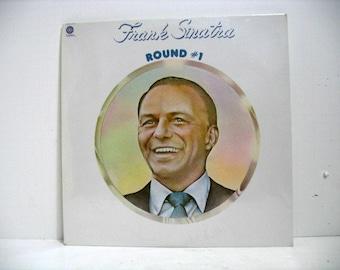 Vintage Frank Sinatra Round #1 LP Sealed Vinyl Record 1974 Capitol