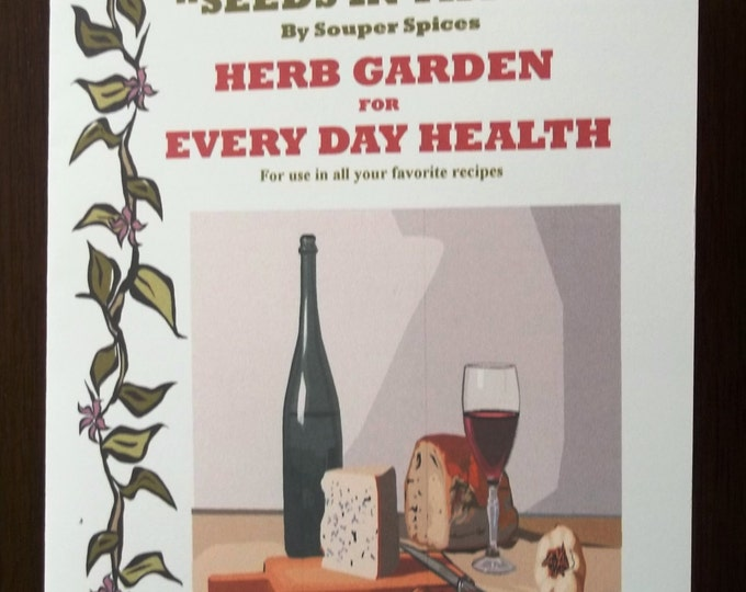 NEW! Herb Garden for Every Day Health Kit! Grow You Own Herbs & Spices. Comes with Complete Directions! Great Gift for all occasions!