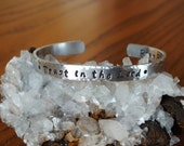 Trust in the Lord Aluminum Cuff - Bridgette Font