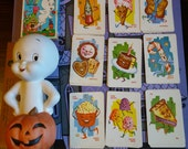 Vintage Casper Tealight Holder and Playing Cards