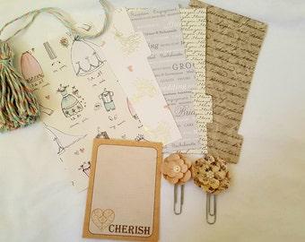 Wedding Themed mini planner kit