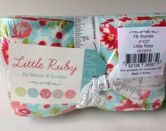 Last One. IN STOCK  Fat Eighth bundle Little Ruby by Bonnie and Camille for Moda