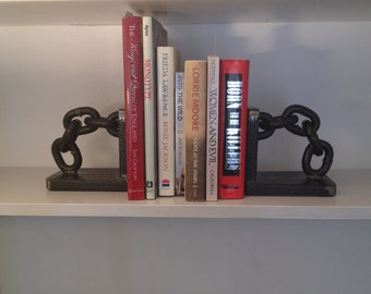 Industrial book ends 1