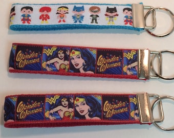 Comic Strip and Mighty Hero Kids Key Fob Keyring