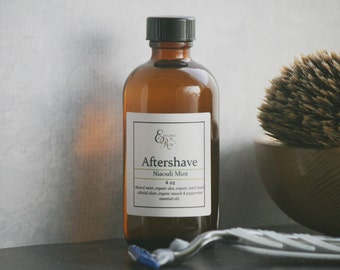 Aftershave, Mens Aftershave, Niaouli Mint Natural Aftershave