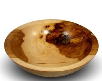 Handmade Apple Wood Bowl - Food Safe
