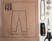 100 Acts of Sewing: Pants No. 1 - Sewing Pattern
