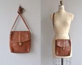 1970s Coach saddle bag | vintage 1970s Coach bag | British Tan 70s Coach shoulder bag