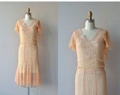 25% OFF SALE The Gaiety dress | vintage 1920s dress • silk chiffon 20s dress