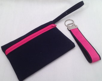 cell phone case and matching key fob/iphone cover/ Made in Maine