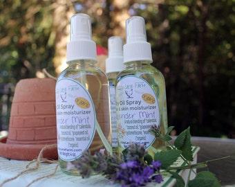 BLUE GARDENIA Dry Oil Linen Spray | Perfume Body Hair Spray | Spring Fragrance | Floral Soft Scent | Womens Fragrance