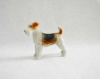 Vintage Airedale Terrier Figure- Styling-Needs A Good Home-Made in Japan
