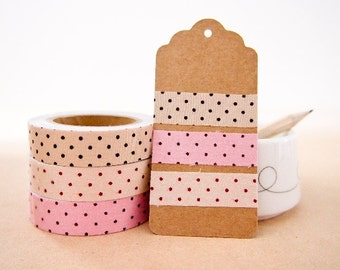 Fabric Deco Tape - Polka Dots