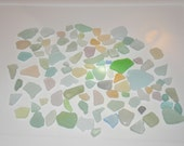 Large Lot 30+ Rare Pastel Beach Glass