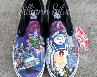 Custom Shoes - ANY theme! Anime - Star Wars - Comic Book - Vintage Cartoons - Gundam - Disney - Thundercats - Transformers - Anything!