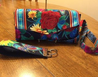 Necessary Clutch Wallet, Accordian Fold Fabric Wallet