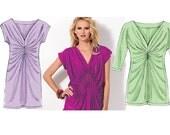 McCalls 6703 M6703 - Misses Dress Pattern - Easy Knit Top Sewing Pattern - Womens Dress and Top Sewing Pattern