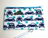 Pencil Case Zip Pouch - Luv Bugs