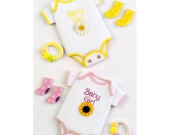 Little B Baby Girl Medium 3D Stickers