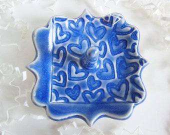 Royal Blue trinket dish for Mom, Nana, Sis, Daughter