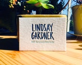 Letterpress Printing - 200 Business Cards