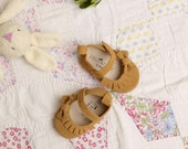 FARRAH Baby Girl Shoes in suede....moccasin style