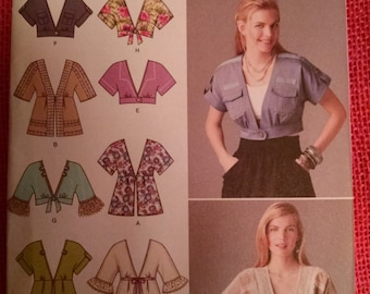 Simplicity 2223 misses shrugs and jackets pattern