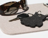 Rectangular 5mm Thick Wool Felt Pad, Table Pad, Catchall Mat, Catch All Dresser Jewelry Tray