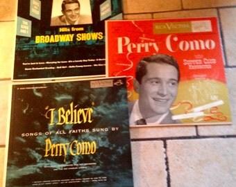 3 RCA Victor Perry Como Records