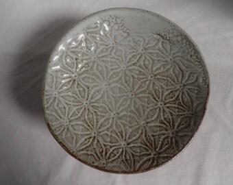 handmade PEDESTAL dish, pottery dish, soapdish, trinket dish