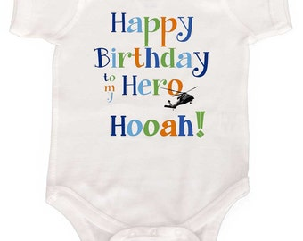 Daddy's Birthday Bodysuit by Mumsy Goose Newborn Rompers to Kids Tees