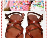 20% OFF Children Leather Sandals for Boys & Girls - Triple Design