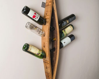 12 Bottle Wall Wine Rack