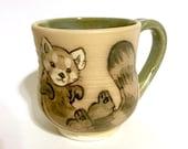Red Panda Tea Cup/Mug