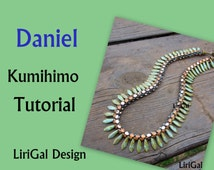 Tutorial Daniel Kumihimo Daggers Necklace PDF