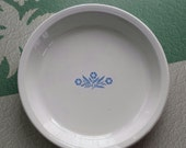 Corning Ware ~ Pie Plate ~ Iconic Cornflower Blue ~ Classic