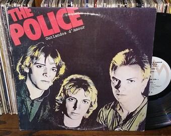The Police Outlandos d Amour Vintage Vinyl Record