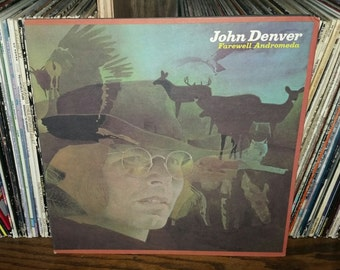 John Denver Farewell Andromeda Vintage Vinyl Record